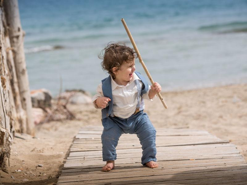 Beach christening