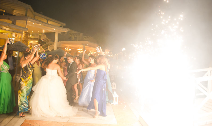 fireworks displays wedding in santorini5 Wedding and Event Entertainment Wedding and Event Entertainment fireworks displays wedding in santorini5