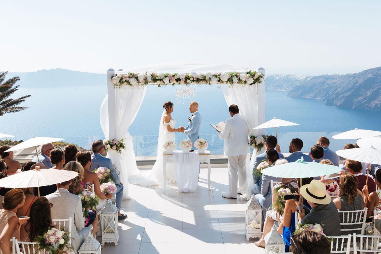 Le Ciel Santorini Le Ciel Santorini le ciel wedding1
