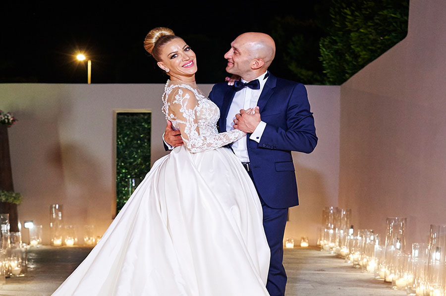 Pool wedding Fady & Rana wedding in Kavouri Athens Fady & Rana wedding in Kavouri Athens libanese wedding